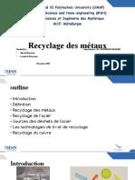 Recyclage des métaux version finale