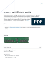 1 DDR4 _ Synology Inc