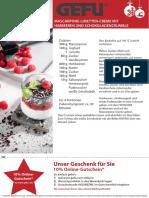 GEFU-Rezept-Nachtisch