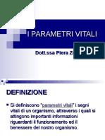 4 - Parametri Vitali