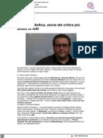Vincenzo Mollica, storia del critico più amato - Iodonna.it, 29 marzo 2021