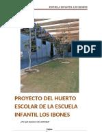 Escuela Infantil Los Ibones - Reto Huerto COVID19