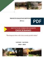 PEI 2015 - IFD Diocesano