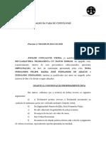 MODELO DE IMPUGNAÇÃO TRABLHISTA