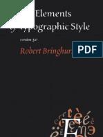 The.elements.of.Typographic.style 3.0 Bringhurst 0881792063