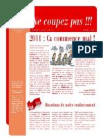 Ne Coupez Pas n°12 - Mars 2011
