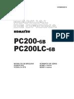 PC200-6B_Manual de Oficina Em Português