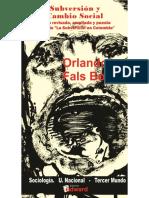 Borda, O. F, Subversion y Cambio Social Subversion en Colombia