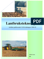 Lantbruksteknologi 1 - LOA 1990-95 Ulf-Peter Granö