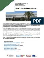 Formação de Ativos Empregados - Flyer