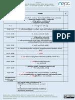 Model Agenda Zilnica