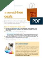 About interest Free Deals