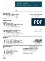 copy of resume template 2