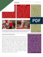 PHS Newsletter 03-07-11