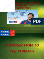 Ppt Final Aircel retail visibility presentation