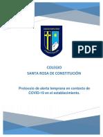 Protocolo Alerta Temprana COVID 19