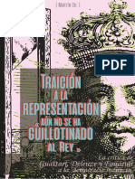Martín Chicolino - Traición a la Representación. «Aún no se ha guillotinado al Rey». La crítica de Deleuze, Guattari y Foucault a la democracia indirecta