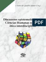 Discussões Epistemologicas Em Ciencias Humanas
