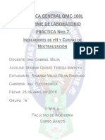 Laboratorio de Química General nro 7