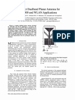 A compact dualband planar antenna for IMT-2000 and WLAN applications