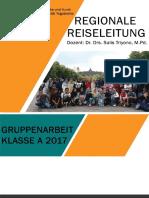 Gruppearbeit Regionale Reiseleitung
