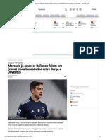 Mercado já aquece_ italianos falam em (nova) troca bombástica entre Barça e Juventus __ zerozero.pt