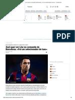 Xavi quer ver Löw no comando do Barcelona_ «Foi um selecionador de luxo» __ zerozero.pt
