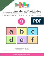 LE0009 Abecedario Edufichas 2020