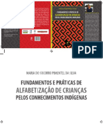 Fundamentos e Práticas de Alfabetização de Crianças Pelos Conhecimentos Indígenas-capa e Livro