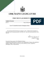 Maine 130 - HP 87 Item 1