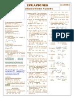 Alg - 5º - Ecuaciones