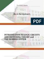 Lec1_Introduction to Logic Circuits
