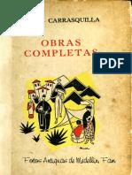 Medellín, Tomás Carrasquilla