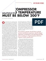COMPRESSOR MYTH_BEARING TEMPERATURE MUST BE BELOW 200F