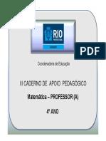 4AnoMatematicaProfessor3CadernoNovo