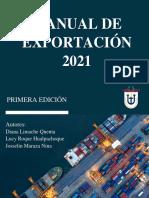 Manual de Exportacion 2021