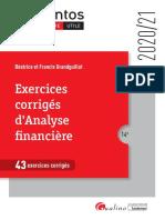 exercice analyse financier