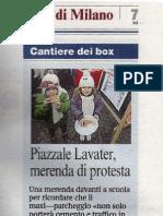 Piazzale Lavater, merenda di protesta, Corriere della Sera - 20110305_Corsera