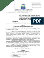 Plano Diretor Participativo de Palmas - LC 155