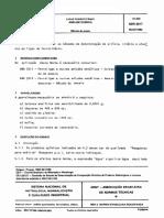 ABNT NBR 5617 - Ligas Ferrotitanio - Analise Quimica