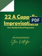 22 a Cappella Standards - Bb Instruments