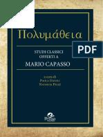 VALERIO Vitelli Prima Dei Papiri