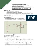 Tp 01 Amplificateur Operationnel