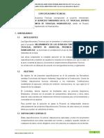 1.0 ESPECIFICACIONES TECNICAS -  FACHADA