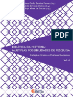 Livro Didática Da História Múltiplas Possibilidades de Pesquisa 2021.1[20799]
