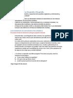 Secuencia didáctica 4to sociales