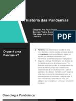 A História das Pandemias
