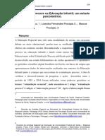 Ducation Proceedings, V.2, n.1 Estimulação Precoce Na Educação Infantil - Um Estudo Psicométrico.