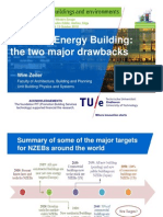 Net-Zero Energy Building, the two major drawbacks (Wim Zeiler)