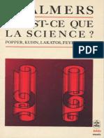 Alan F. Chalmers - Qu'Est-ce Que La Science _-La Découverte (Le Livre de Poche)